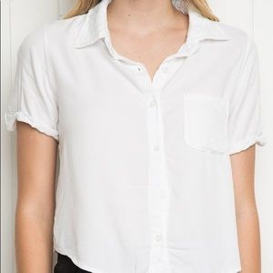 2 for 20 Brandy Melville Peyton Button-Up T